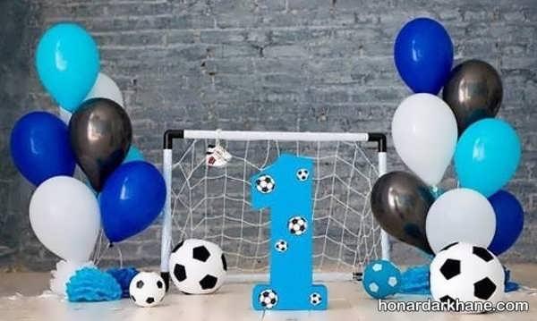 مدل های جذاب برگزاری تولد با تم فوتبالی