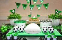 مدل های متنوع و شیک برگزاری تولد با تم تولد فوتبالی