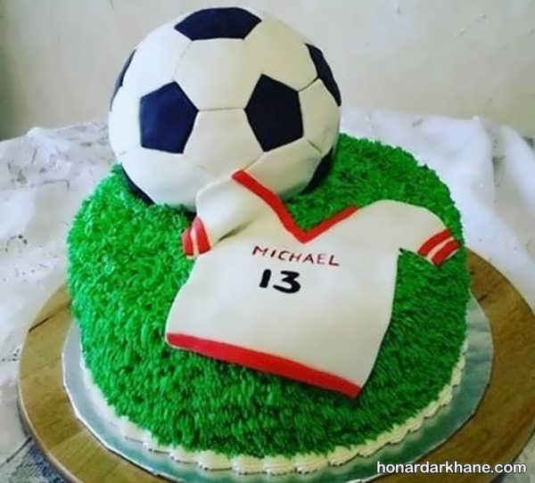 انواع برگزاری جشن تولد با تم فوتبالی