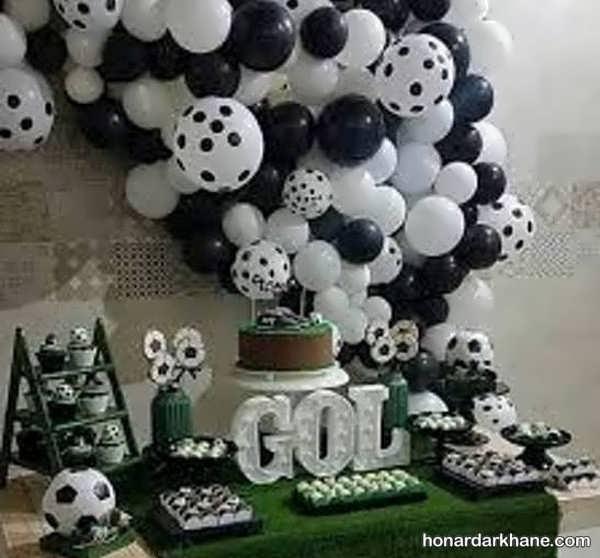 انواع ایده های خاص برگزاری تولد با تم فوتبالی