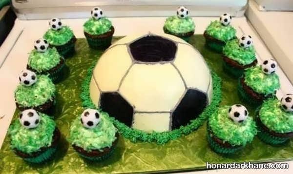 مدل های جدید برپایی تولد با طرح فوتبالی