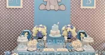 انواع برگزاری جشن تولد با تم فیل کوچولو