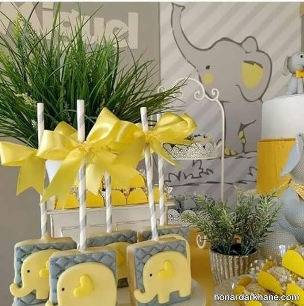 انواع برگزاری جذاب تولد با طرح فیل کوچولو
