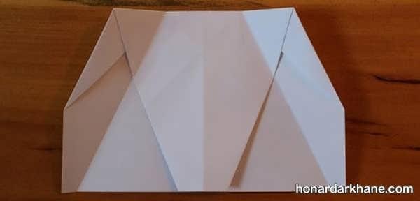 طریقه درست کردن موشک کاغذی برای کودکان