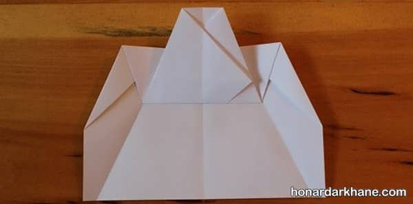 آموزش درست کردن موشک کاغذی به روشی ساده