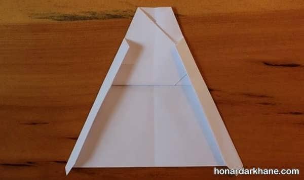 آموزش ساختن موشک کاغذی