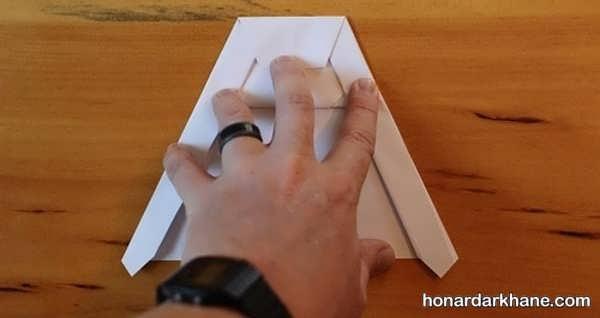 نحوه ساختن موشک کاغذی حرفه ای برای بچه ها