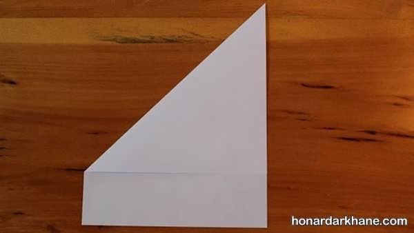 نحوه درست کردن موشک کاغذی