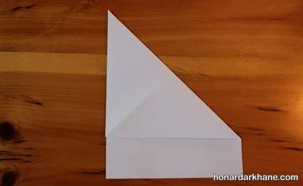 روش درست کردن موشک کاغذی جالب