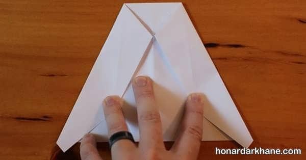آموزش درست کردن موشک کاغذی برای کودکان