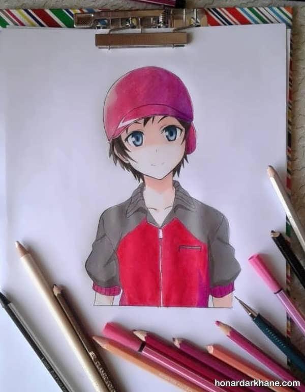 انواع طرح های نقاشی زیبا برای نوجوانان