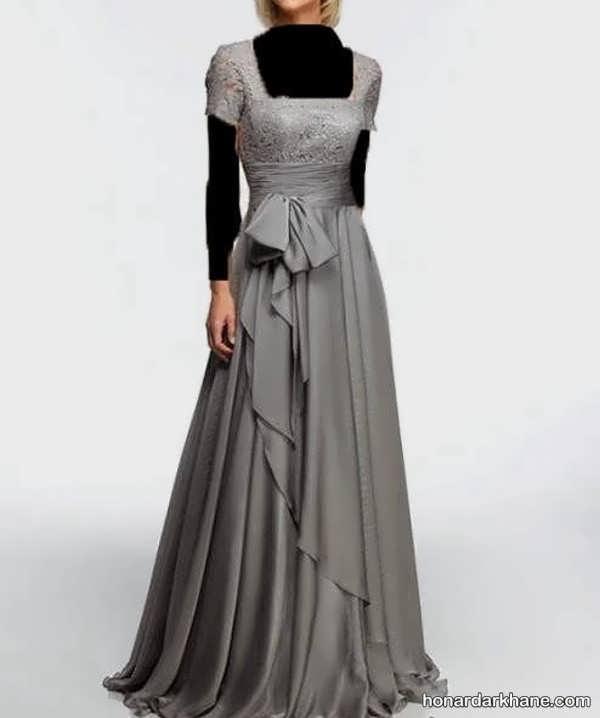 انواع لباس مجلسی بلند برای افراد میانسال