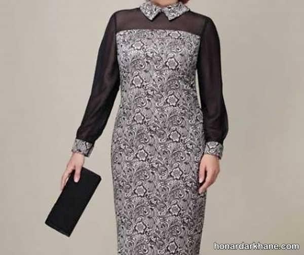 انواع لباس مجلسی زیبا برای افراد مسن