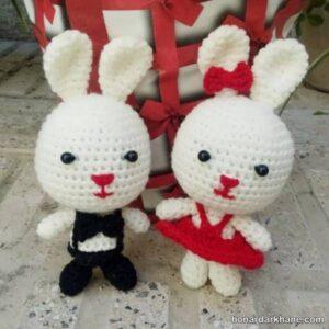 نحوه ساخت عروسک خرگوش