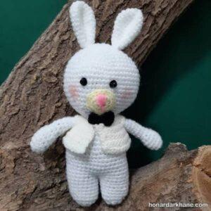 نحوه بافت عروسک خرگوش