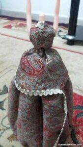 طریقه دوختن لباس عروسک سنتی