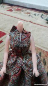 نحوه دوختن لباس عروسک زیبا و جذاب