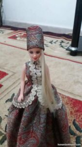 آموزش درست کردن لباس عروسک باربی