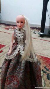 روش دوخت لباس عروسک در خانه