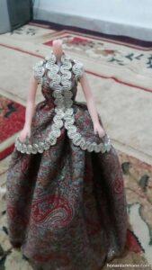 آموزش خیاطی لباس عروسک