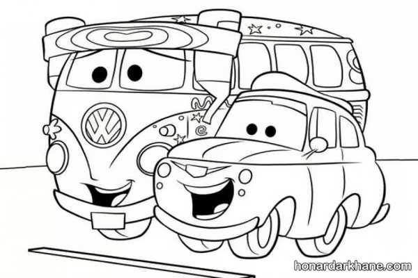 انواع مدل های جالب و زیبا نقاشی ماشین