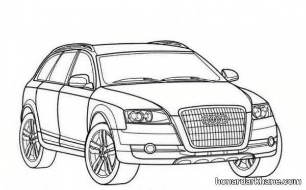 انواع طرح های کلاسیک نقاشی خودرو