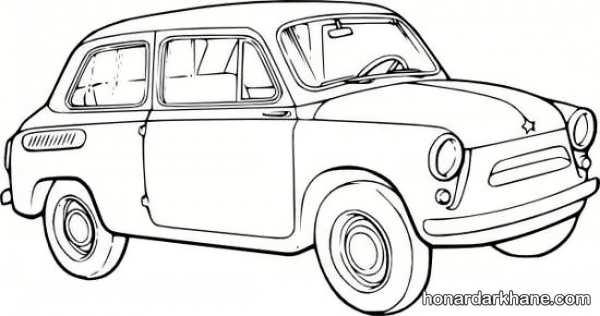 انواع مدل های کلاسیک نقاشی خودرو