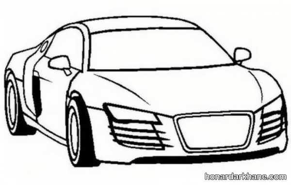 انواع طرح های جدید نقاشی اتومبیل