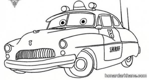 انواع نقاشی ماشین برای کودکان