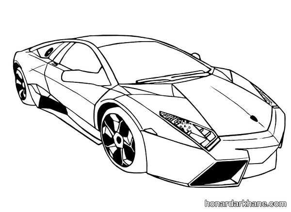 انواع طرح های خاص نقاشی خودرو