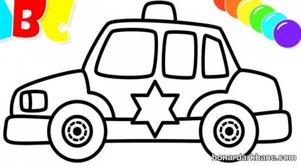 انواع طرح فانتزی نقاشی خودرو