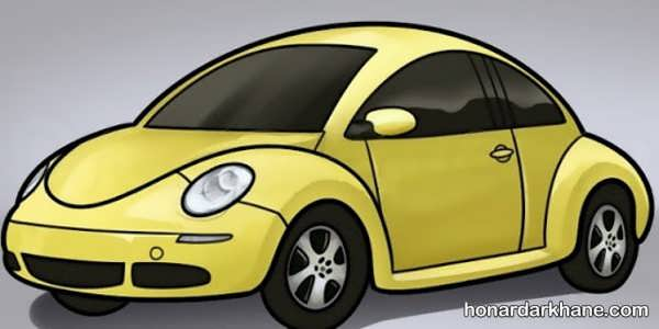 انواع ایده های جذاب نقاشی خودرو