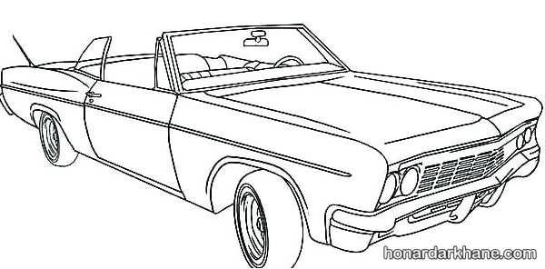 انواع طرح های جدید نقاشی خودرو