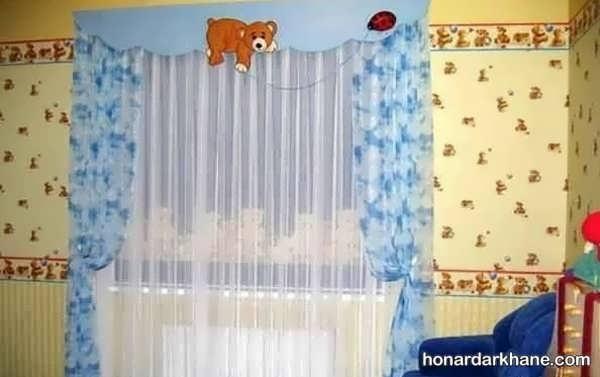 مدل های جالب پرده اتاق کودک