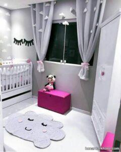 انواع پرده اتاق کودک در طرح های جدید