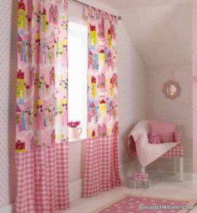 انواع پرده اتاق نوزاد در طرح های جالب