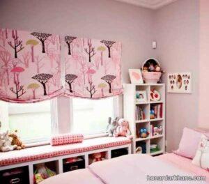 مدل های زیبا و شیک پرده اتاق نوزاد