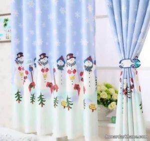 انواع طرح های خاص و جذاب پرده اتاق کودک