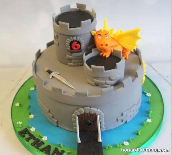 انواع کیک تولد زیبا با طرح فانتزی
