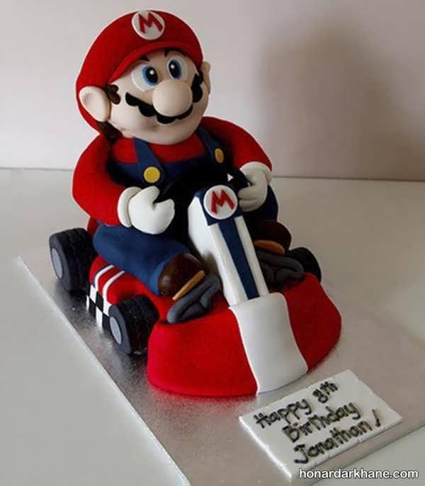 انواع کیک تولد با طرح های خاص