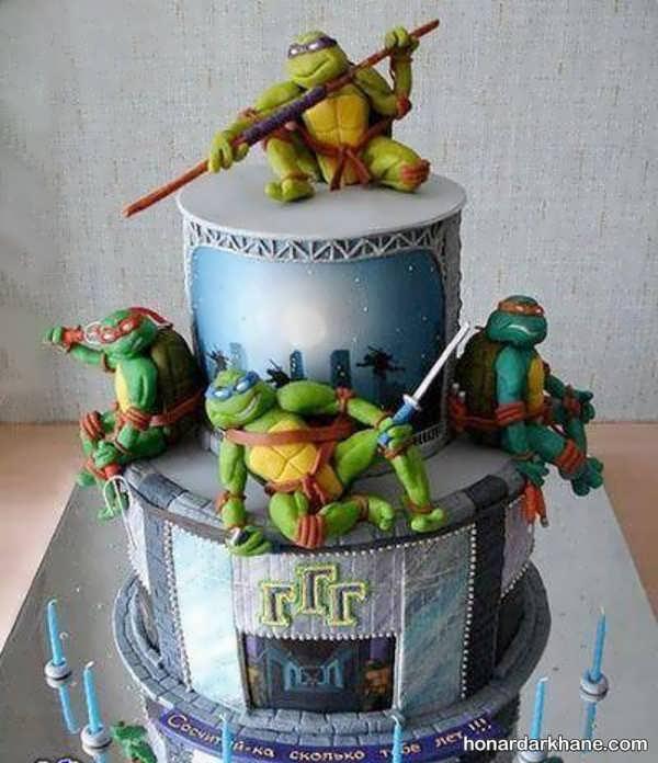 انواع سبک های خاص کیک تولد برای پسران