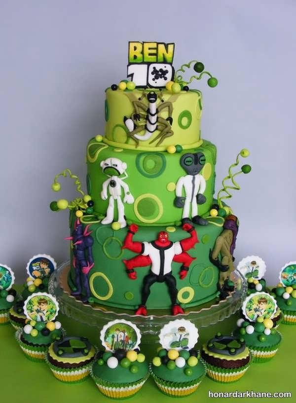 انواع کیک تولد با طرح جالب برای پسران