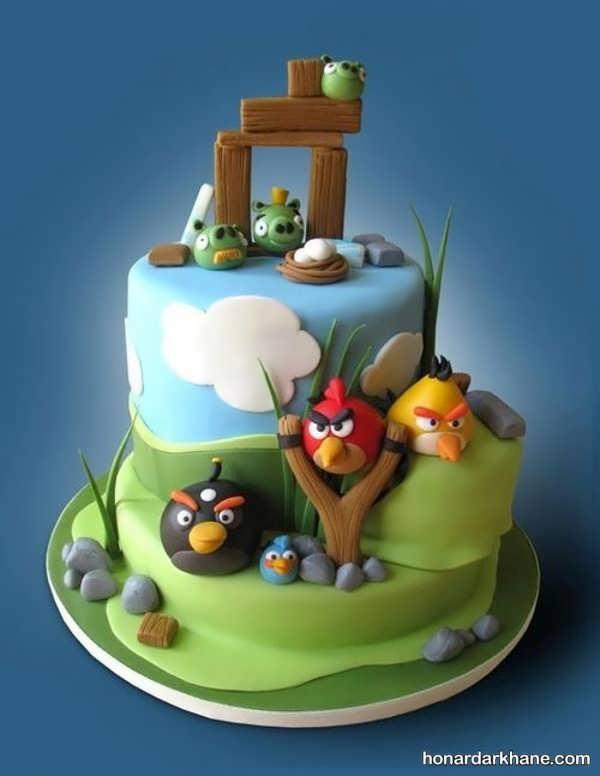 انواع کیک تولد جدید برای پسران