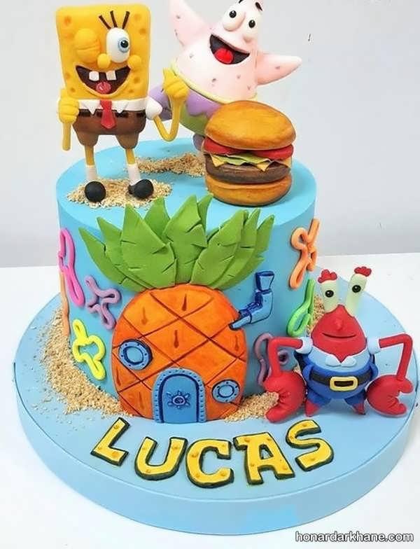 انواع کیک تولد جذاب برای پسران