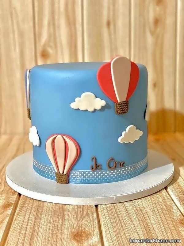 انواع کیک تولد زیبا و جالب با طرح فانتزی