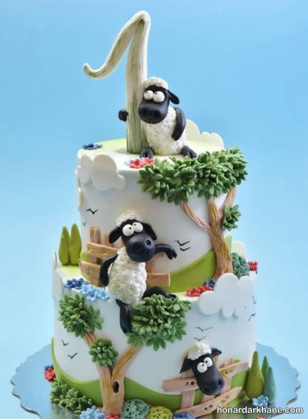 انواع کیک تولد شیک پسرانه