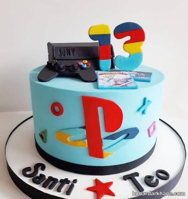 انواع کیک تولد با طرح شیک و جذاب
