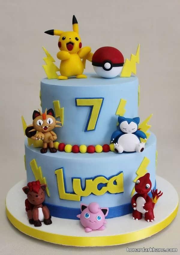 انواع کیک تولد زیبا برای پسران