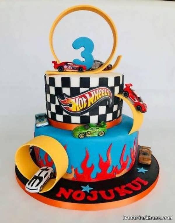 انواع کیک تولد فانتزی برای پسران