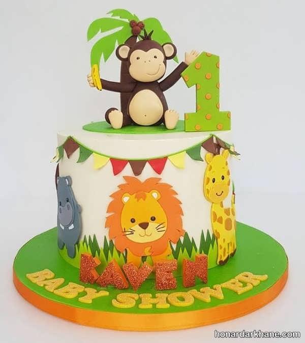 انواع مدل های خاص کیک تولد برای پسر بچه ها